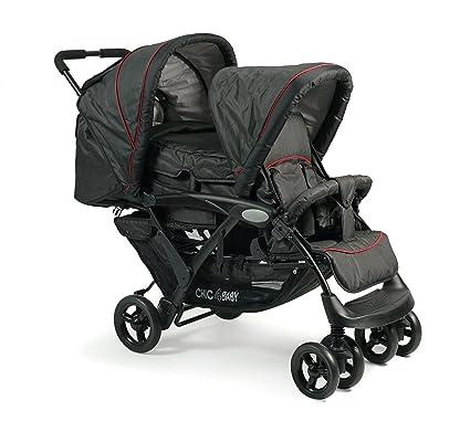 CHIC 4 Baby Carrito Duo Incluye Baby Bolsa de transporte y de lluvia, varios. Colores negro Jeans black