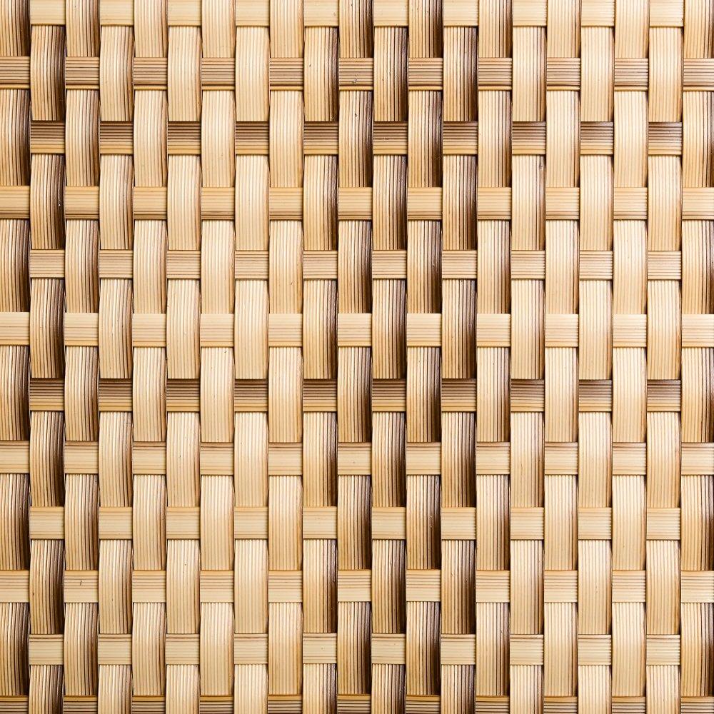 Viva-Haushaltswaren - 5 Meter hochwertiger Balkonsichtschutz / Zaunblende aus Polyrattan - Höhe 1 Meter / Farbe: beige