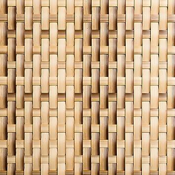 Viva-Haushaltswaren - 5 Metros alta calidad Visual para balcones/vallas embellecedor de Polirratán - Altura 1 metro/Color: Beige: Amazon.es: Jardín