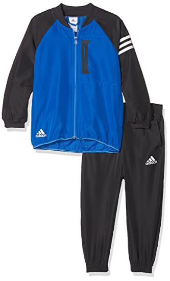 adidas Boys' Leo Messi TS CH Sports Outfit, Black/Neguti/Azul/