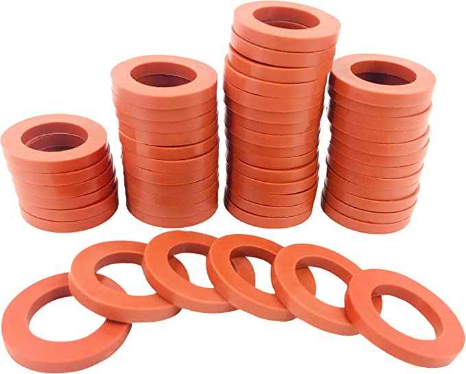 """100x 3//4/""""Garden Pipe Water Shower Hose Washer Seal Gasket Fitting O-Ring Gaskets"""