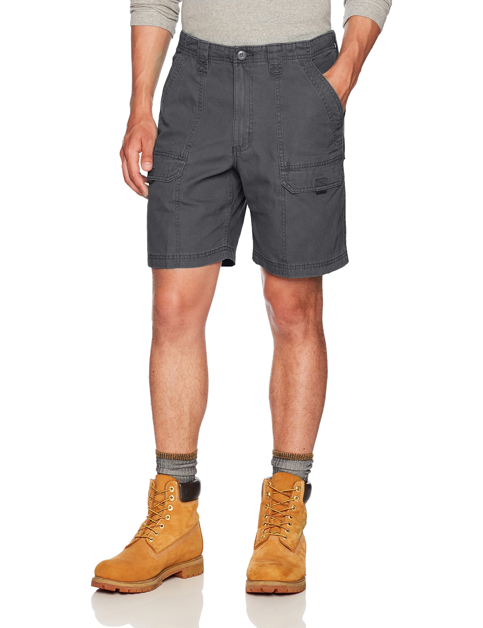 Wrangler Authentics Men's Utility Hiker Short,Anthracite,34