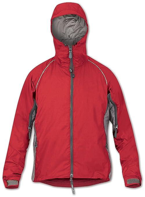 Paramo Directional Clothing Systems Quito - Chubasquero para Hombre, Color Naranja, Talla 2XL