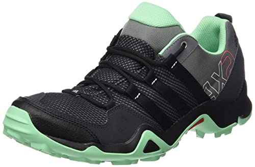 online retailer ed982 2ffe6 adidas AX2, Womens Low Rise Hiking Shoes, Gris  Black  Verde (Grivis   Negbas  Briver), 3.5 UK Amazon.co.uk Shoes  Bags