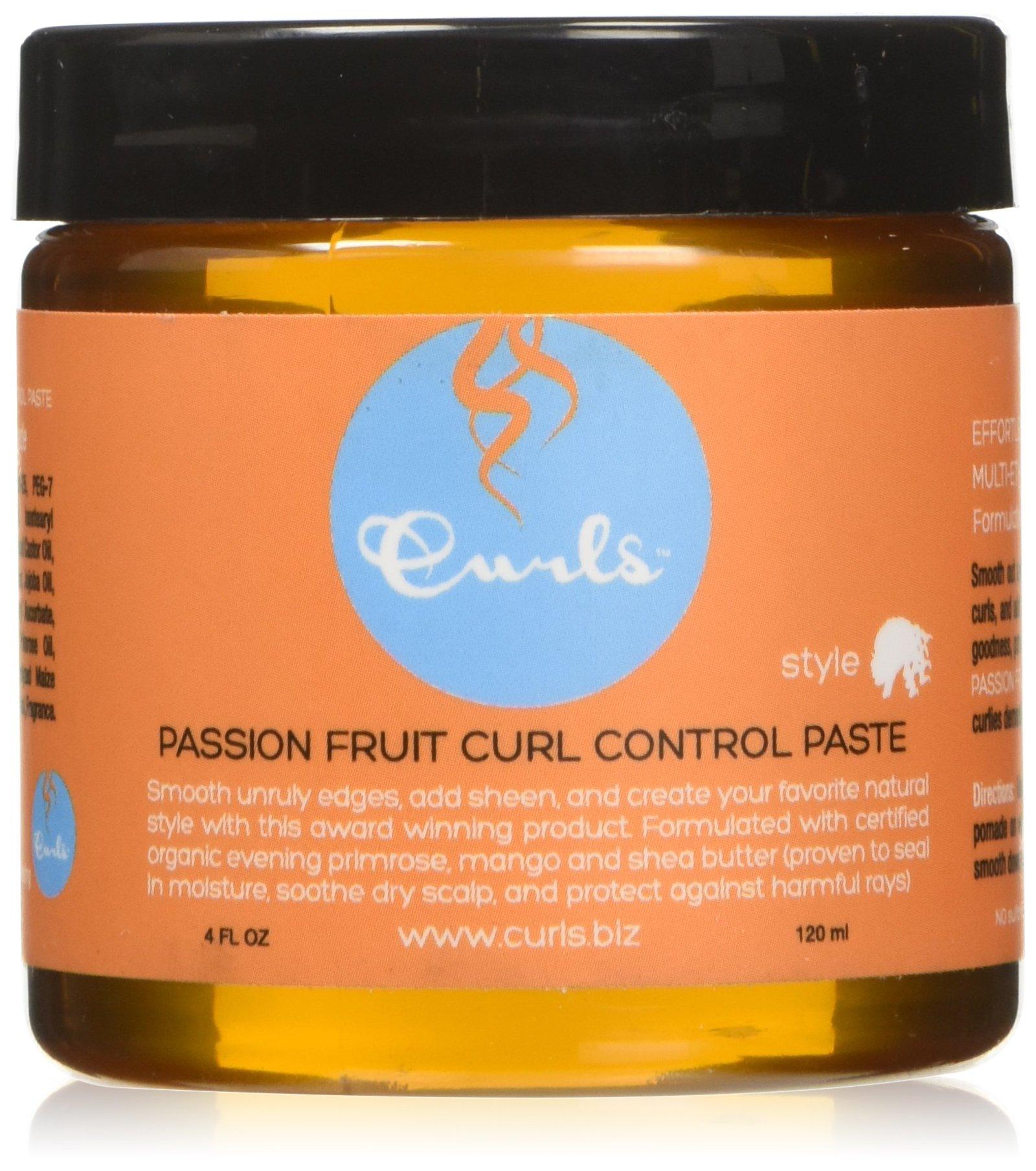 Curls Paste Passion Fruit Cream, 4 Ounce