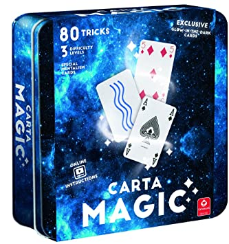 Cartamundi Carta de magia 80 trucos de tarjeta Fabulous Set ...
