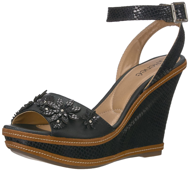 J.Renee Women's Alawna Wedge Sandal B01N2WRNOH Parent