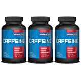 Prolab Caffeine Tablets 100 Count (Pack of 3)