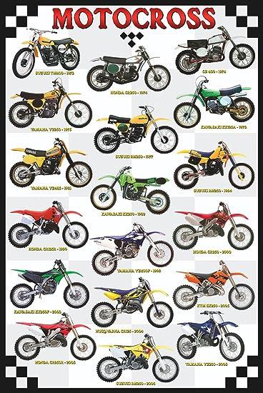 Eurographics Motocross Poster, Papier, 36 x 24 inch