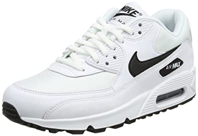 best sneakers 163ac 1ab89 Nike WMNS Air Max 90, Chaussures de Running Compétition Femme, Multicolore  (White