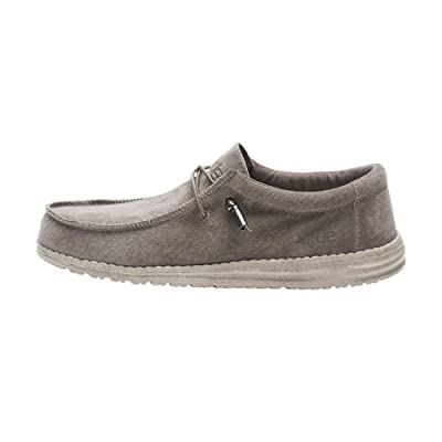 Hey Dude Men's Wally Suede | Loafers & Slip-Ons