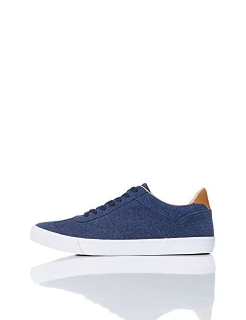 FIND Sneaker Basse in Pelle Scamosciata Uomo 89b29fe5874