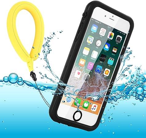 BDIG Funda Impermeable para iPhone 7/8/SE, IP68 Waterproof Carcasa Resistente al Agua con Protector de Pantalla Incorporado para iPhone SE/iPhone ...