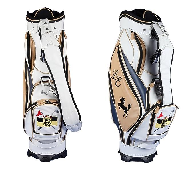 Lujo: Bolsa golf personalizada MORFONTAINE hecha de cuero ...
