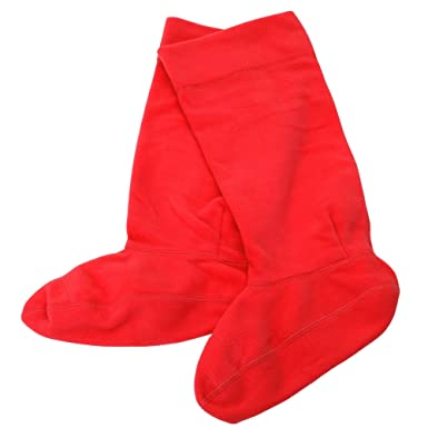 photos officielles 3f763 e7be9 Textiles Universels Chaussettes en polaire pour bottes en caoutchouc - Fille