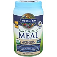Garden of Life Raw Organic Meal Replacement Powder - Vanilla, 28 Servings, 20g Plant Based Protein Powder, Superfoods…