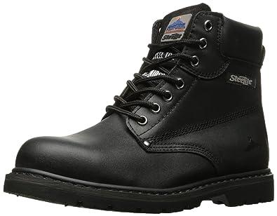 Portwest Steelite Welted Safety Boot UFW16BKR0100 Black Regular Fit Size  10.0