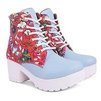 KRAFTER Women's Canvas Boots
