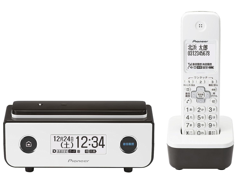 パイオニア Pioneer TF-FD35W デジタルコードレス電話機 子機1台付き/迷惑電話防止 ビターブラウン TF-FD35W(BR) 【国内正規品】 B01M7WYU0K ビターブラウン 本体+子機1台 ビターブラウン