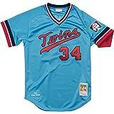 3b14b81e6 Mitchell   Ness Kirby Puckett 1984 Minnesota Twins Authentic Road Blue  Jersey