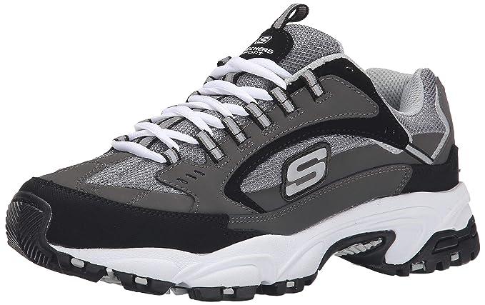 Skechers Mens 50988 Grey Size  9.5 XW US  Amazon.co.uk  Shoes   Bags 096f166f198