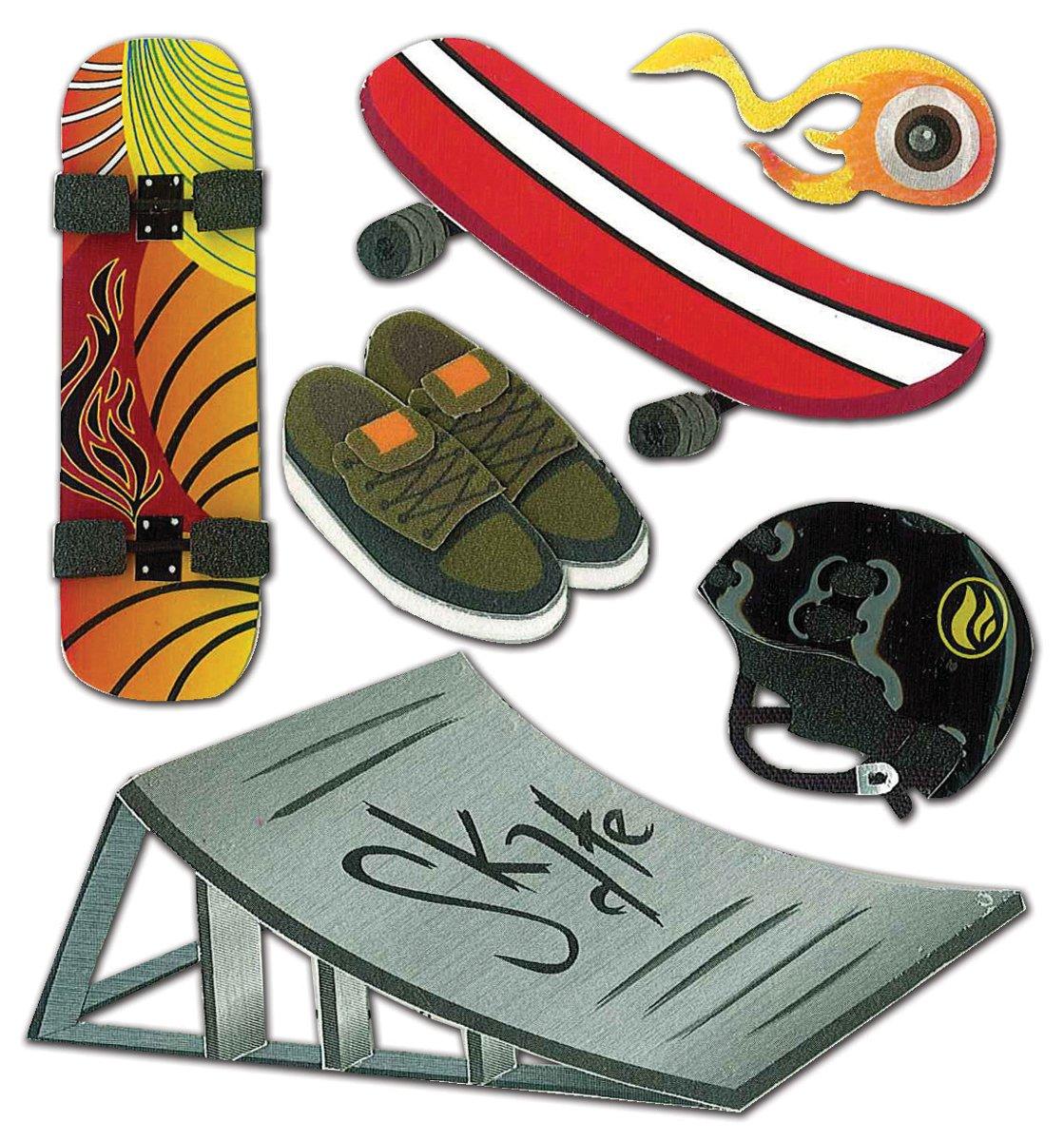 Jolee のスケート ボード ステッカー次元 - ブティック B0028A1DJ2