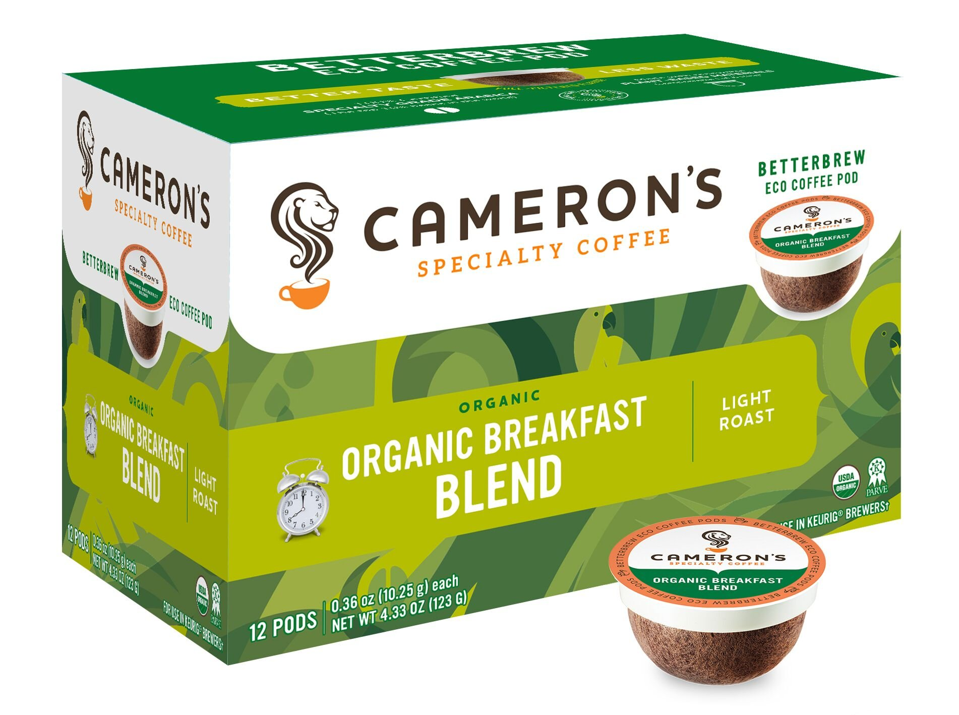 Cameron S Breakfast Blend Coffee Pods