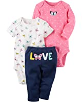 Carter's Baby Girls Take Me Away 3-Piece Little Character Set