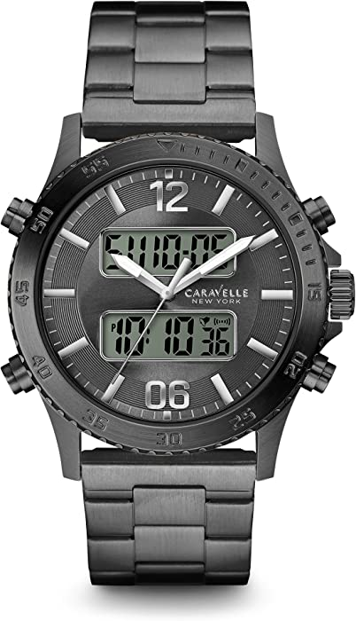 Caravelle New York Mens 45B136 Digital Watch