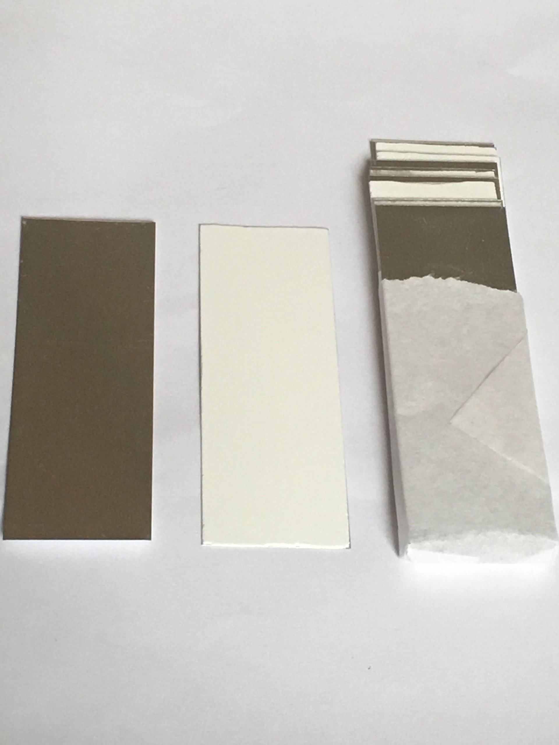 AAdvance Instruments TLC Plates Aluminum Backed Silica Gel 60 F254 2.5cm x 7.5cm Precut Size 80/Box by AAdvance Instruments