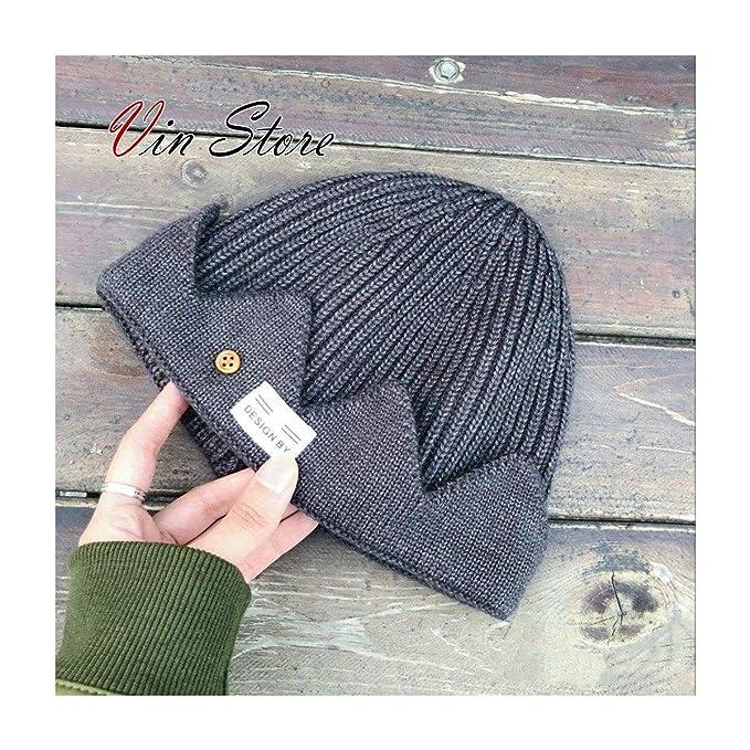 149427b1ac6 Vin Store Riverdale Jughead Beanie - Cosplay Beanie Hat Crown Knitted Cap  for Men Women (