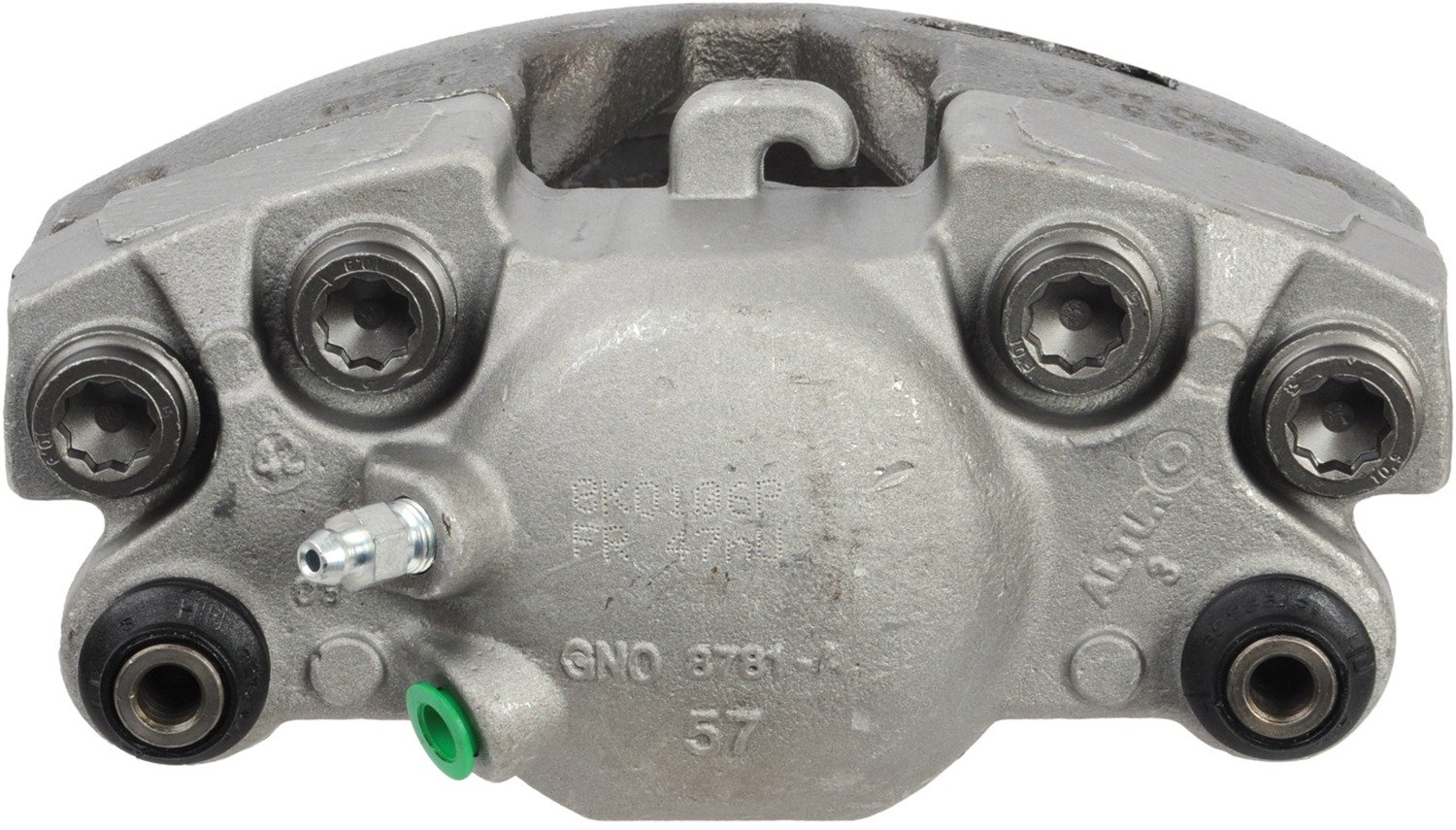 Brake Caliper Unloaded Cardone 19-3647 Remanufactured Import Friction Ready
