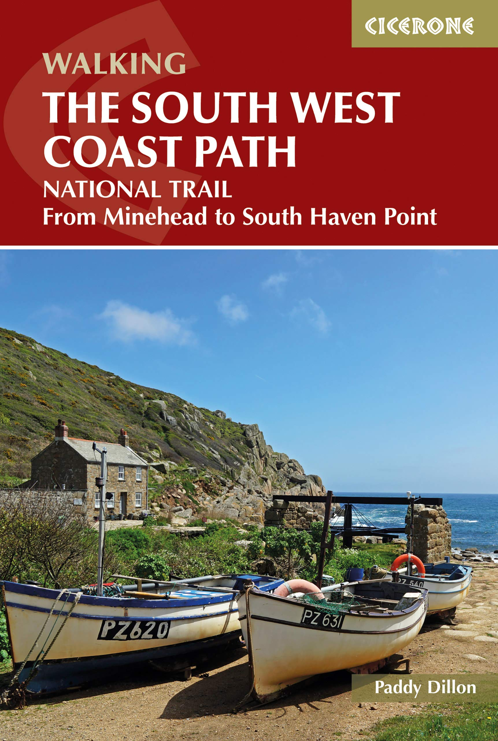 The South West Coast Path  From Minehead To South Haven Point  Cicerone Guides