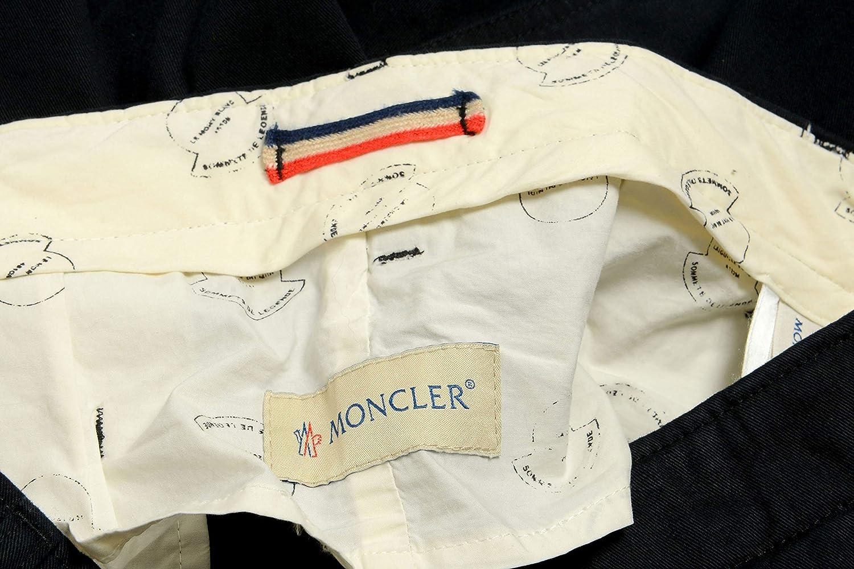Moncler Mens Black Casual Pants US 34 IT 50