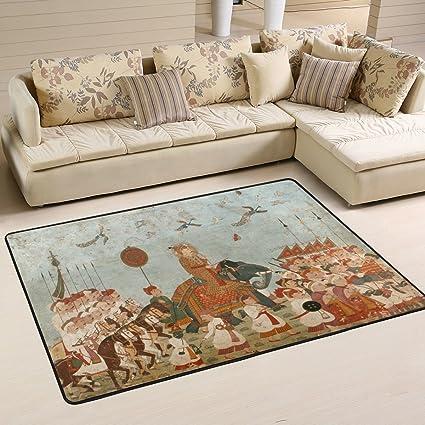 Native American Living Room Decor.Amazon Com Deyya Non Slip Area Rugs Carpet Home Decor