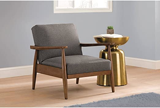 Amazon Com Better Homes And Gardens Mid Century Chair Wood With