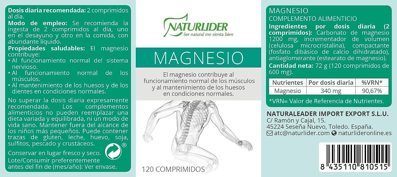 Star Nutrients Vitanutrients Carbonato de Magnesio - 120 ...