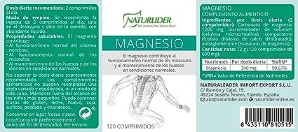 Star Nutrients Vitanutrients Carbonato de Magnesio - 120 comprimidos: Amazon.es: Salud y cuidado personal