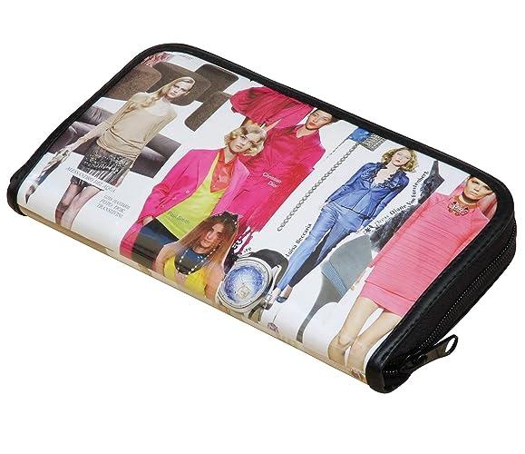 Amazon com: Large zip wallet using fashion magazine - FREE