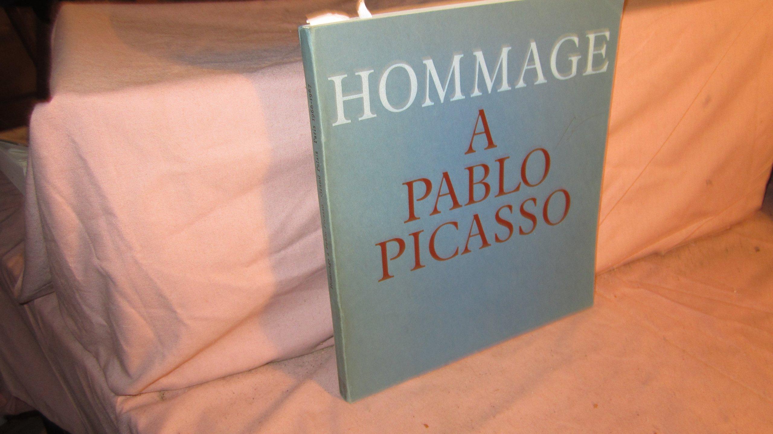 hommage pablo picasso peintures grand palais novembre 1966 fvrier 1967