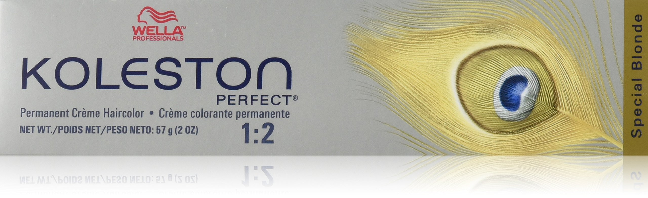 Wella Koleston Perfect Hair Color, 12/81 Special Blonde/Pearl Ash, 2 Ounce