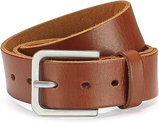 Eg-Fashion Vollledergürtel aus 100% argentinischem Rindleder Herren Jeansgürtel 4cm Breite - Individuell kürzbar - 2 Jahre Garantie
