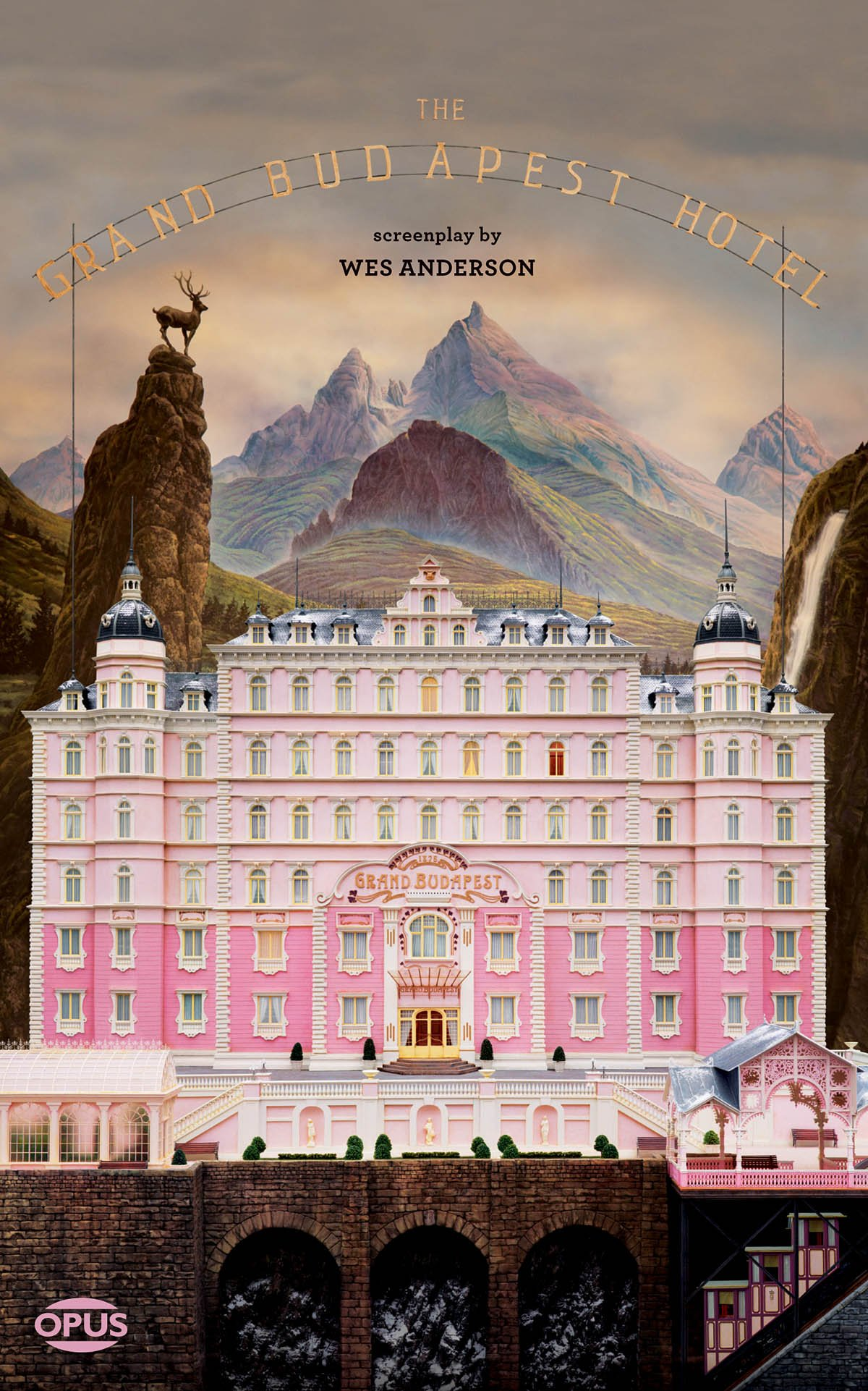 The Opus Screenplay Series The Grand Budapest Hotel The Illustrated Screenplay