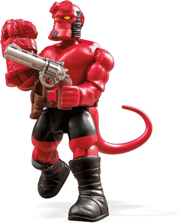 Amazon.com: Mega construx Heroes Series Hellboy Juego de ...