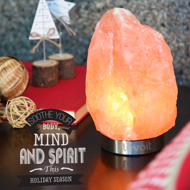 Levoit elora himalayan salt lamp natural himilian for Pure himalayan salt lamp