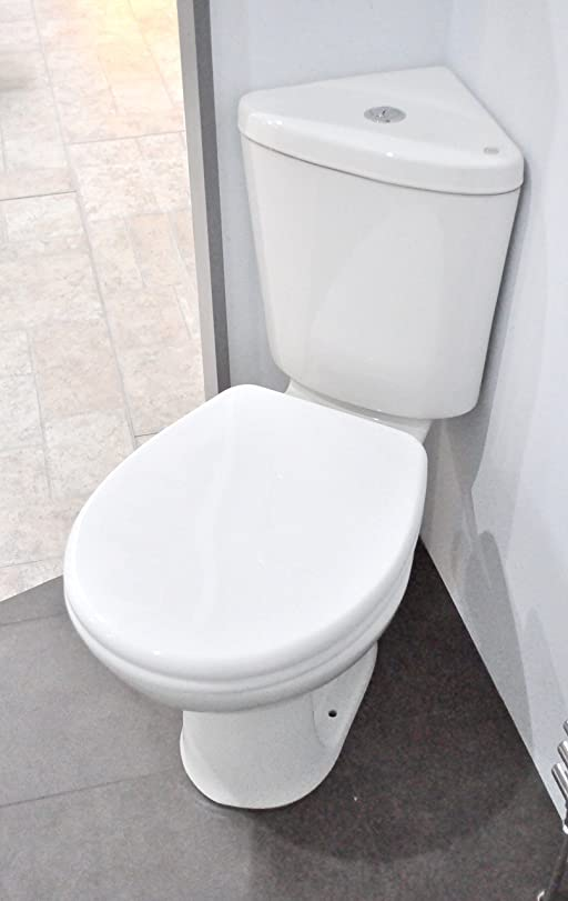 Ness Compact Bathroom Cloakroom Corner Space Saving Close Coupled