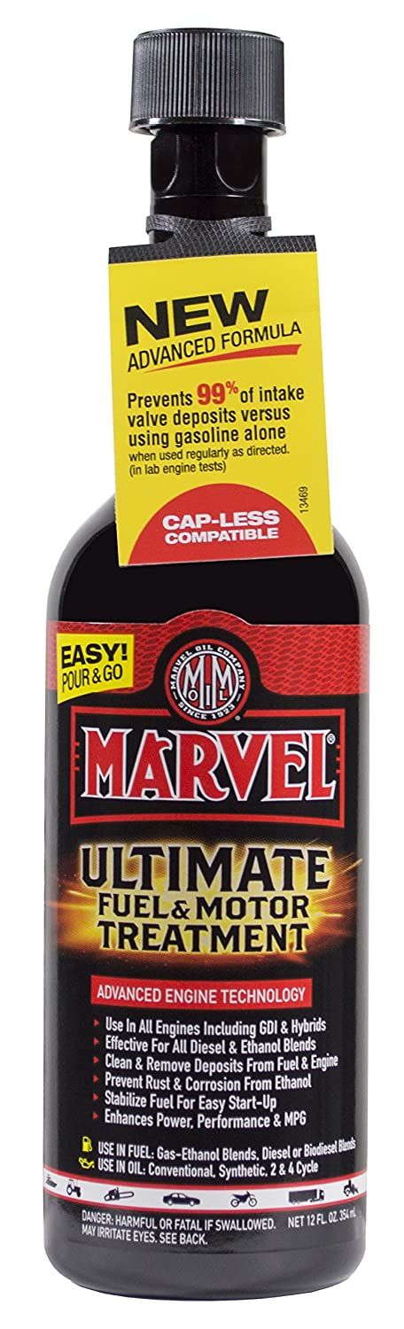 Marvel Mystery Oil Ultimate Fuel and Motor Treatment