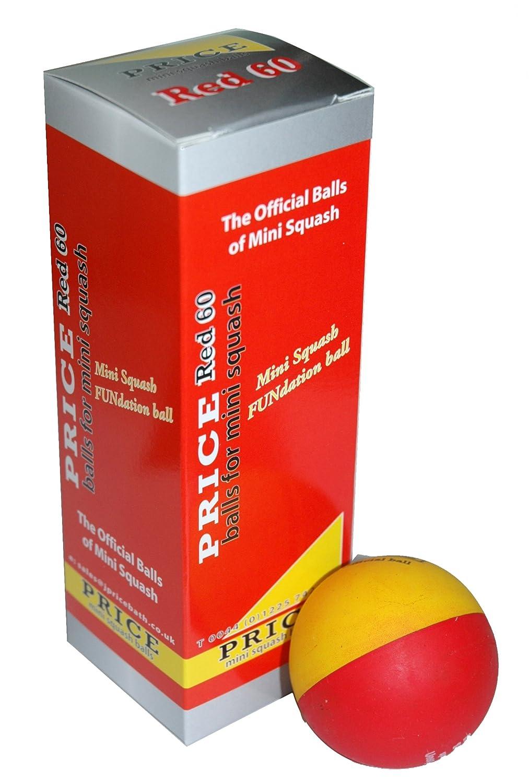 Unsquashable Fundation Balles de mini squash Pack de 3 202166/3