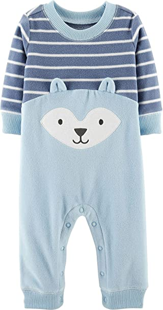 Amazon.com: Carter s Fox Romper (bebé): Clothing