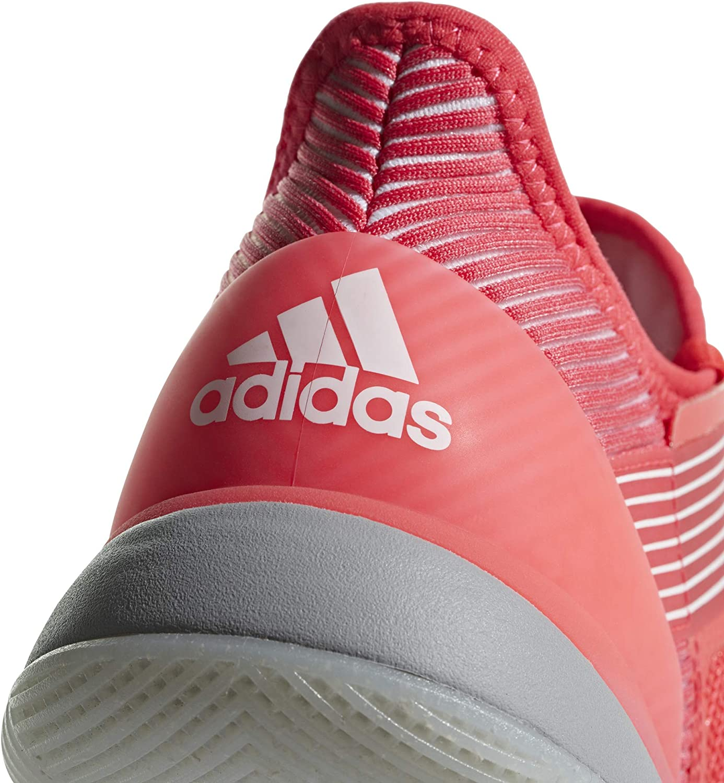 adidas Adizero Ubersonic 3 Allcourtschuh Damen-Koralle Zapatillas de Tenis para Mujer Grau